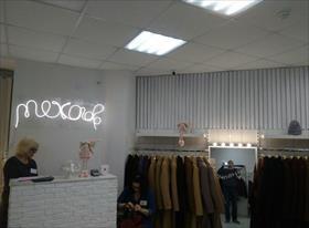 Монтаж видеонаблюдения в магазине верхней одежды на С.Хакима