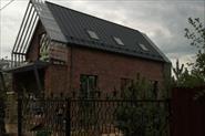 отделка фасада загородного дома клинкером