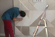 Реставрация гипсовых панелей