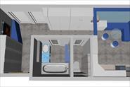 Эскизный проект малогабаритной квартиры в г.Москве