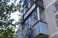 Балкон с выносом и без.
