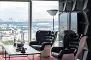 Косметический ремонт офиса,Москва-Сити.Дизайн - Макс Лангу(