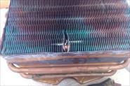 Пайка радиатора колонки