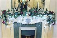 Салон красоты. Новогоднее оформление