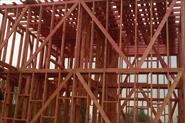 монтаж деревянный дом