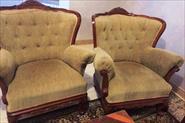 Реставрация дивана и 2-х кресел