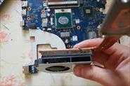 Чистка и замена термопасты ноутбуков