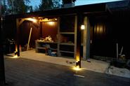 Освещение летней веранды и зоны гриль