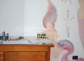 Роспись кабинета в итальянском доме