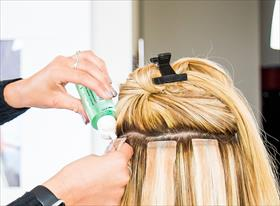 Наращивание волос, плетение кос