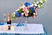 Свадьба в голубых оттенках
