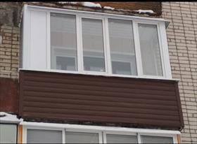 Отделка лоджий и балконов