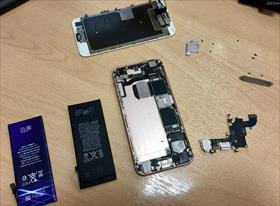 Iphone 6s. Замена разъема питания + АКБ