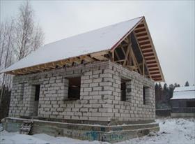 Дома из блока