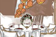 Свадебные скетчи, приглашения,иллюстрации и принты