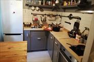 Уборка кухни до и после
