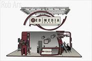 Выставочный стенд Red Media Group для выставки «Связь-2020»