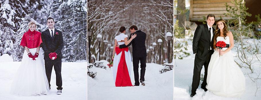 зимняя фотосессия пары