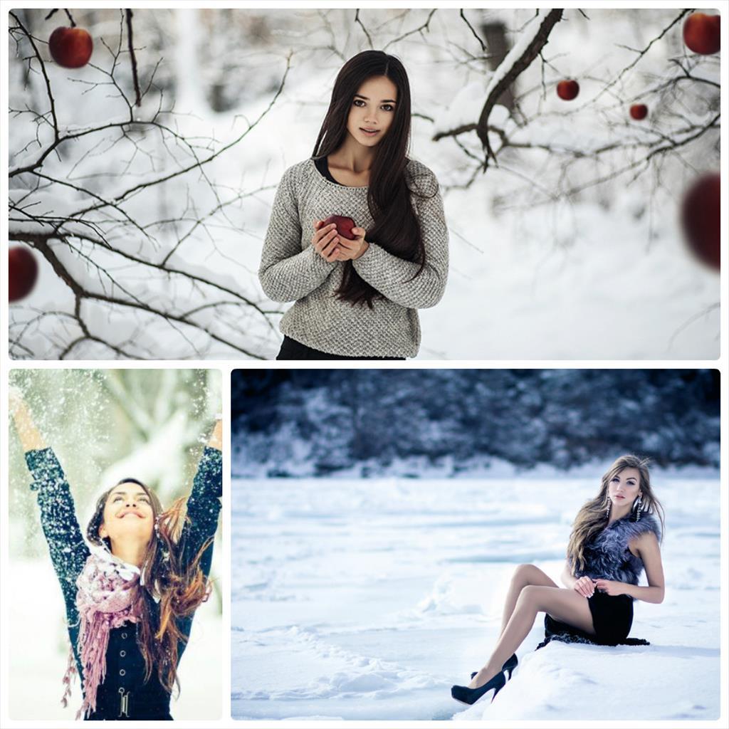 фотосессия зима