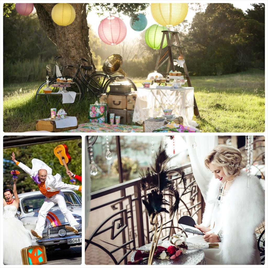идеи свадебной фотосессии летом