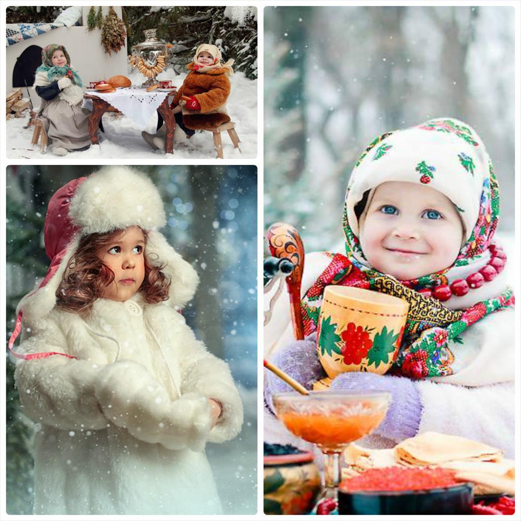 фотосессия зимой на улице с ребенком