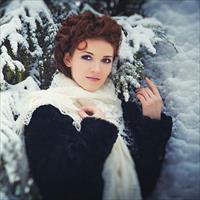 Позы для фотосессии зимой на улице