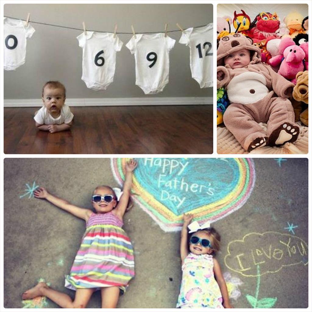 идеи для фотосессии детей до года